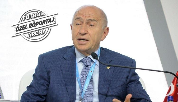Nihat Özdemir FutbolArena'ya konuştu: 'Trabzonspor'un cezası'