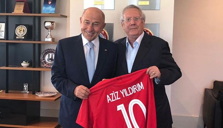 Nihat Özdemir'den Aziz Yıldırım'a telefon: