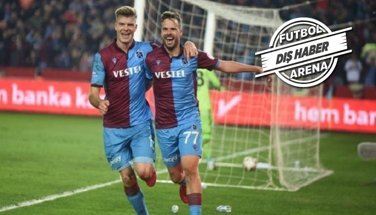 Trabzonsporlu Novak'tan İstanbul kulüplerine gönderme
