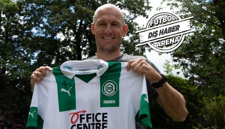 Robben futbola geri döndü! Groningen ile sözleşme imzaladı