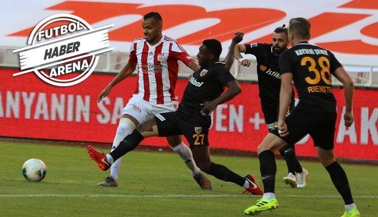 Sivas ağır yaralı! (Sivasspor 0-2 Kayserispor özeti ve golleri izle)