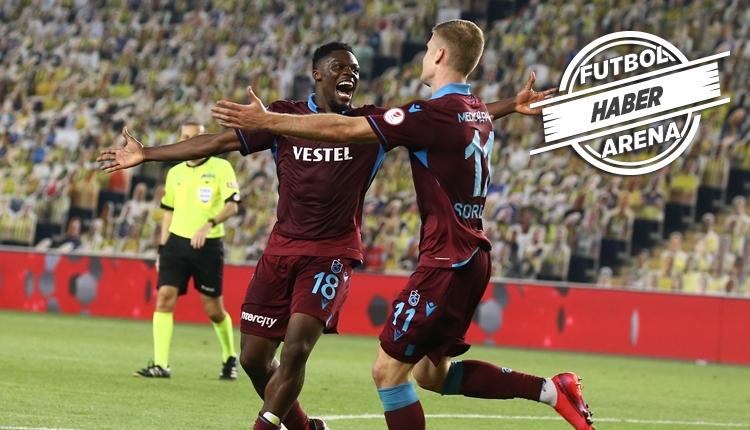 Trabzonspor, 23 yıl sonra Kadıköy'de Fenerbahçe'yi yendi