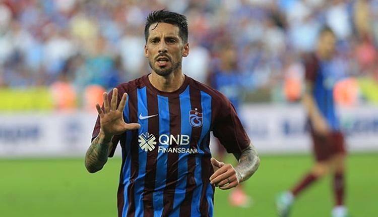 Trabzonspor'a Jose Sosa müjdesi! Göztepe maçı kadrosu