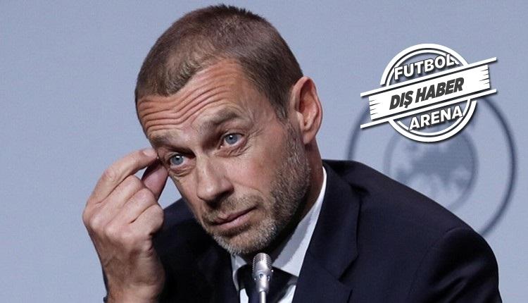 UEFA'dan açıklama: 'İsteyen play-off yapabilir ama tek koşul var'