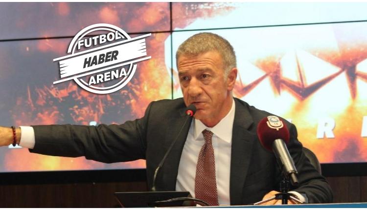 Trabzonspor Başkanı Ahmet Ağaoğlu'ndan flaş karar