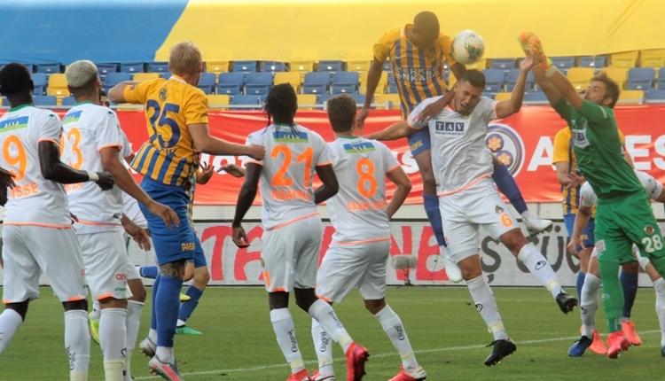 Ankaragücü 1-4 Aytemiz Alanyaspor maç özeti ve golleri (İZLE)