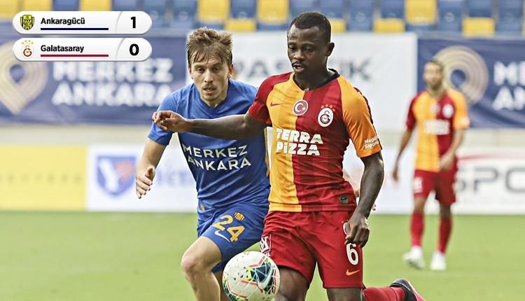 Ankaragücü altın buldu! Galatasaray'da seri 8 maça çıktı (İZLE)