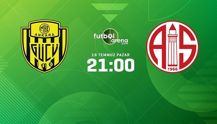 Ankaragücü - Antalyaspor canlı ve şifresiz maç izle (beIN Sports Max 2 canlı yayın)
