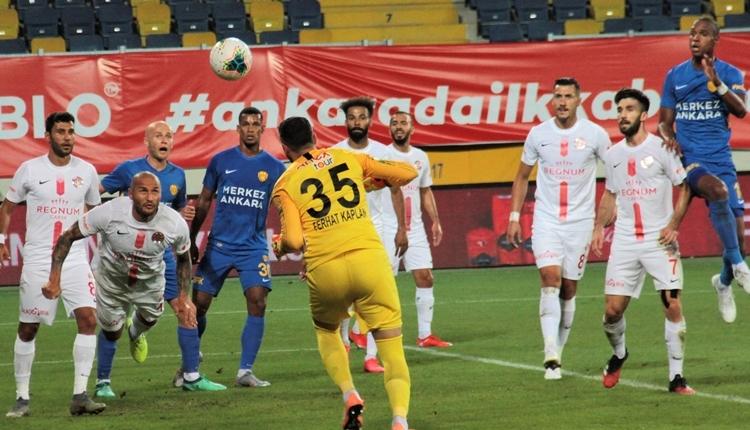 Ankaragücü, Süper Lig'de küme düşen ilk takım oldu