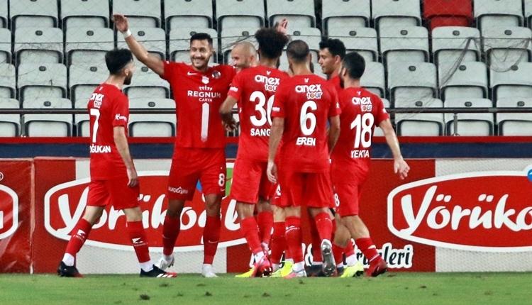 Antalyaspor 1-0 Aytemiz Alanyaspor maç özeti ve golü (İZLE)