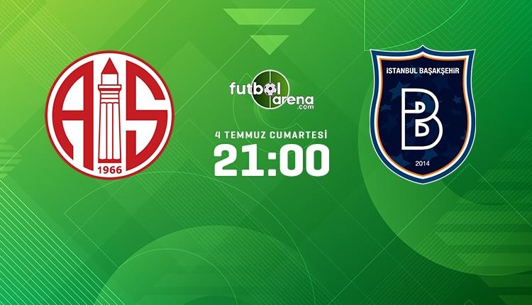 Antalyaspor - Başakşehir canlı ve şifresiz izle (beIN Sports 2 canlı yayın)