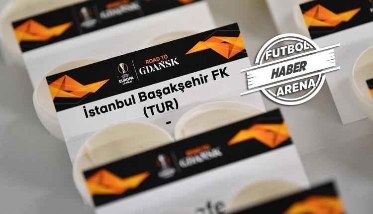 Başakşehir'in Avrupa Ligi'ndeki rakibi belli oldu