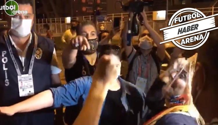 Berna Gözbaşı'nın Beşiktaş galibiyeti sonrası büyük sevinci (İZLE)