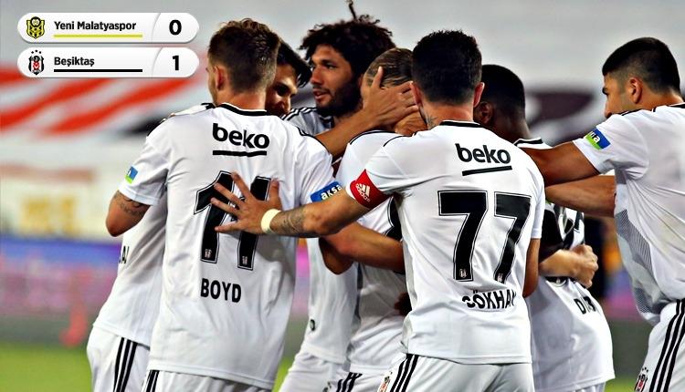 Beşiktaş, Malatya'da tek golle kazandı (İZLE)