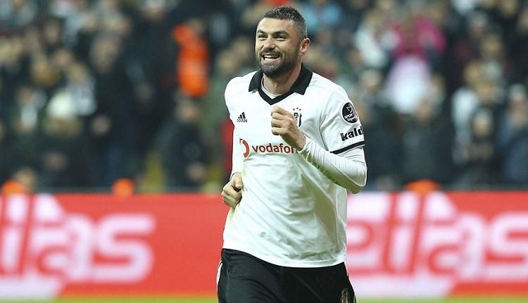Beşiktaş'ta derbi öncesi Burak Yılmaz sevinci