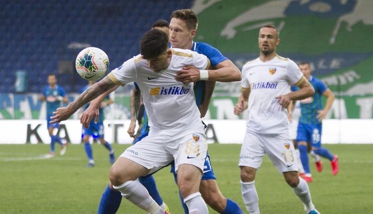 Çaykur Rizespor 3-2 Kayserispor maç özeti ve golleri (İZLE)