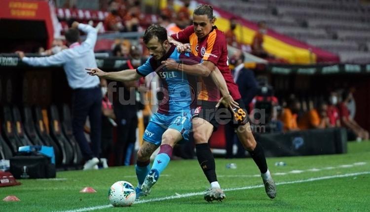 Galatasaray 1-3 Trabzonspor maç özeti ve golleri (İZLE)