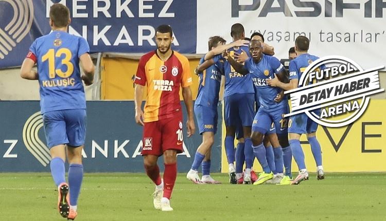 Galatasaray'da 43 yıl sonra gelen kara tablo!