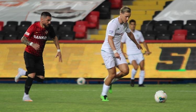 Gaziantep FK 3-1 Konyaspor maç özeti ve golleri (İZLE)