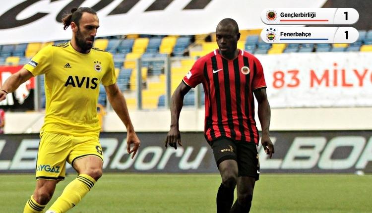 Gençlerbirliği ile Fenerbahçe puanları paylaştı (İZLE)