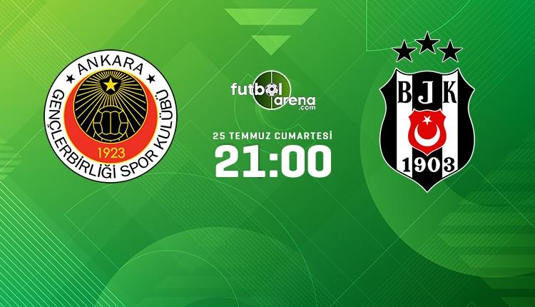 Gençlerbirliği-Beşiktaş canlı izle, Gençlerbirliği-Beşiktaş şifresiz İZLE (Gençlerbirliği-Beşiktaş beIN Sports 3 canlı ve şifresiz İZLE)