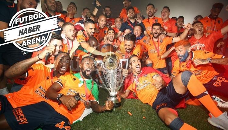 Medipol Başakşehir şampiyonluk kutlamaları (İZLE)
