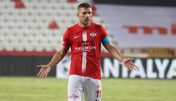 Podolski Trabzonspor maçında yok