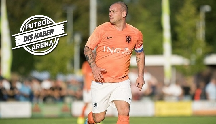 Sneijder'den futbola dönüş adımı! Amatör takım
