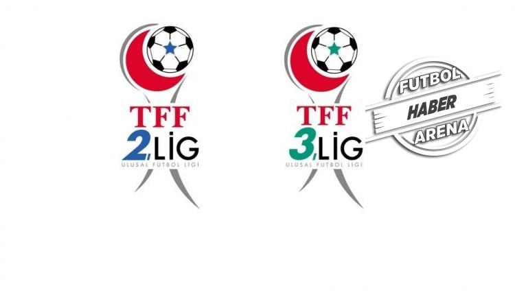 TFF 2. Lig ile TFF 3. Lig'de yükselenler, küme düşenler ve play-off eşleşmeleri