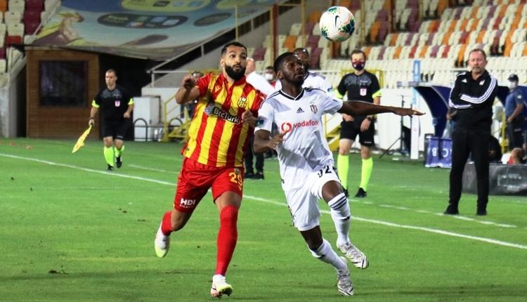 Yeni Malatyaspor 0-1 Beşiktaş maç özeti ve golü (İZLE)