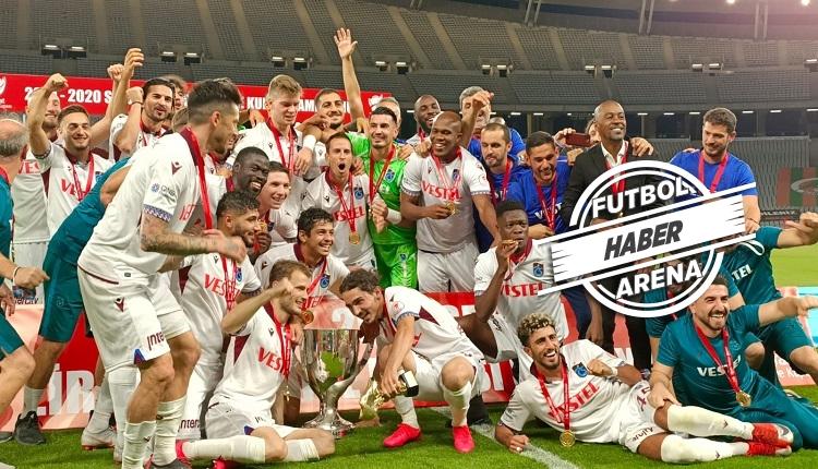 Ziraat Türkiye Kupası şampiyonu Trabzonspor