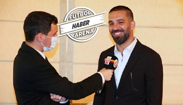 Arda Turan resmen Galatasaray'da! 'Çok özledim'