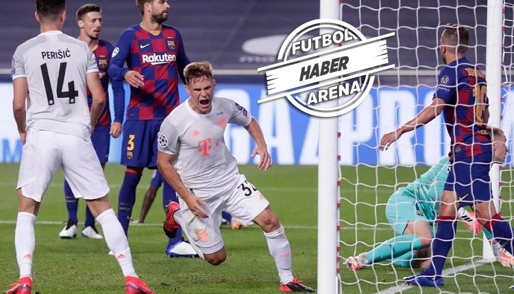 Barcelona 2-8 Bayern Münih maç özeti ve golleri (İZLE)