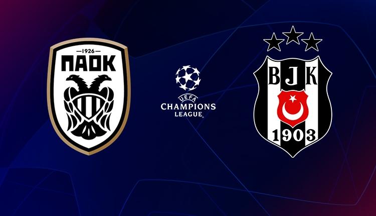 Beşiktaş, PAOK karşısında tur peşinde