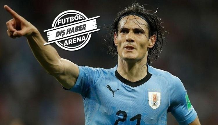 Cavani Benfica'da! 3 yıllığına 30 milyon euro