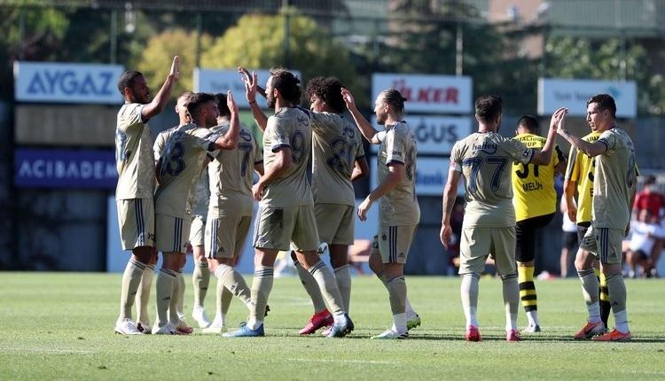 Fenerbahçe'nin hazırlık maçları (Karagümrük, Alanyaspor)