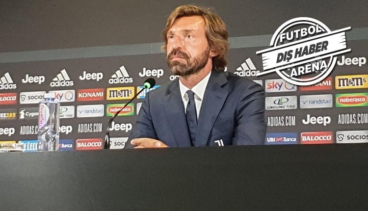 Flaş! Juventus'un yeni teknik direktörü Pirlo