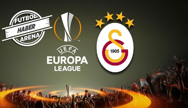 Galatasaray'ın UEFA Avrupa Ligi'ndeki rakibi