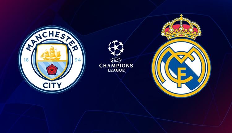Manchester City Real Madrid canlı izle (beIN Sports 1 şifresiz ve canlı yayın)