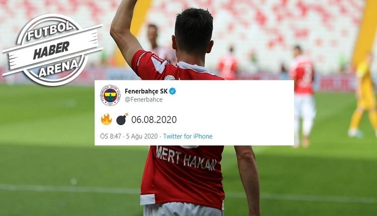 Mert Hakan Yandaş Fenerbahçe'de! Heyecanlandıran paylaşım