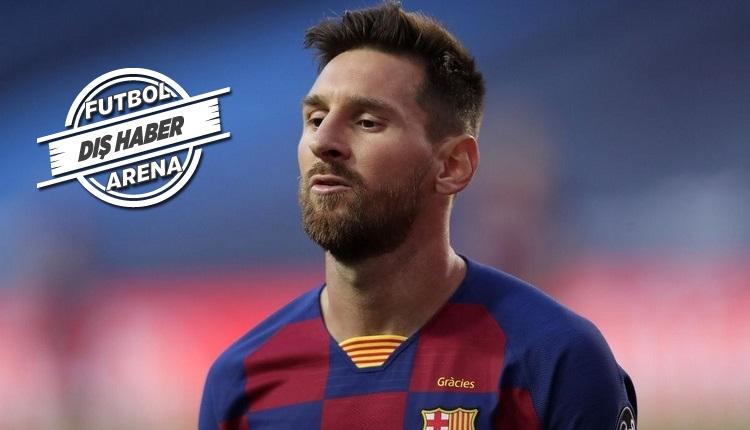 Messi'nin Barcelona'da kalma ihtimali var.