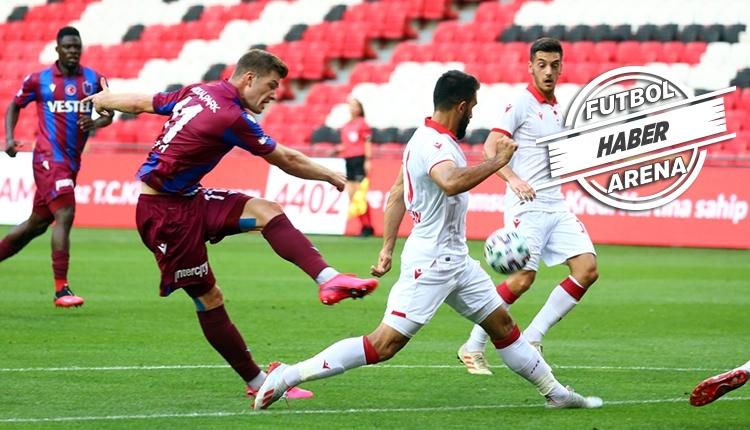 Samsunspor 2-1 Trabzonspor maç özeti ve golleri (İZLE)