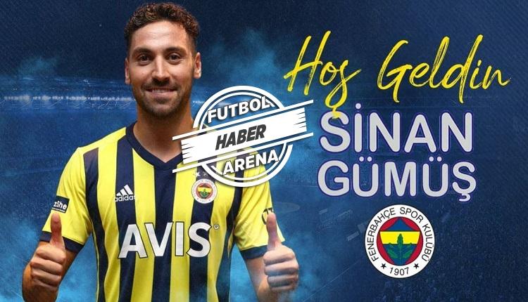 Sinan Gümüş Fenerbahçe'de! 3+1 yıllık anlaşma