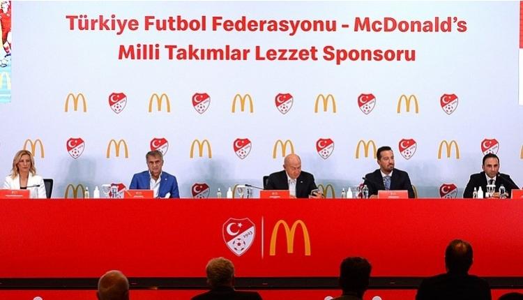 TFF ile McDonald's arasında sponsorluk anlaşması