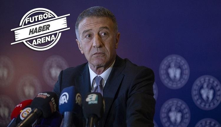 Ahmet Ağaoğlu: 'Sörloth gitmek istiyor ama transfer kitlendi'