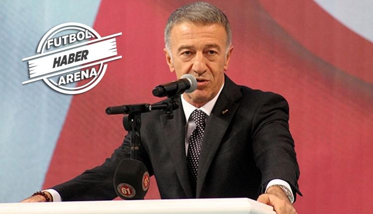 Ahmet Ağaoğlu'dan Trabzonspor taraftarına transfer müjdesi