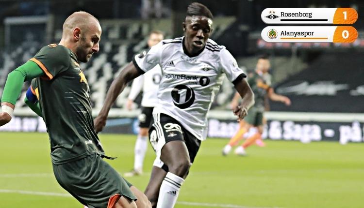 Alanyaspor veda etti Rosenborg 1-0 Alanyaspor maç özeti izle