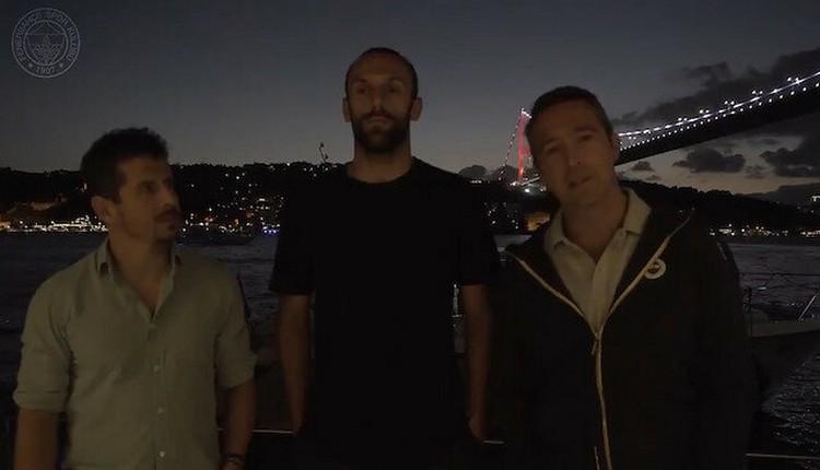 Ali Koç ve Emre Belözoğlu'ndan Vedat Muriqi'ye veda