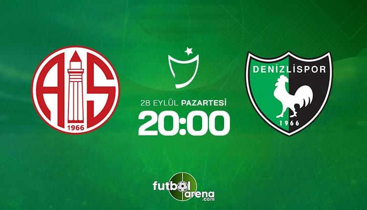 Antalyaspor Denizlispor canlı izle - Antalyaspor Denizlispor şifresiz İZLE (Bein Sports 1 canlı yayın)