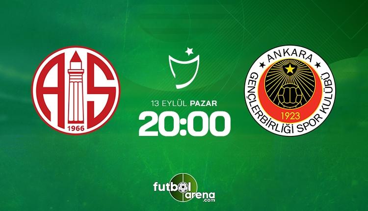 Antalyaspor Gençlerbirliği canlı izle - Antalyaspor Gençlerbirliği şifresiz İZLE (Bein Sports 2 canlı yayın)